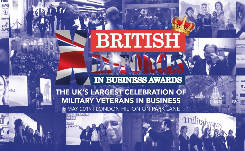 Sopra Steria's Vern Davis and Mohammed Ahmed finalists in the British Ex-Forces in BusinessAwards.